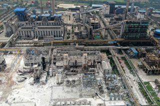 Death toll rises to 12 after China gas plant blast