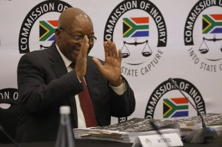 Why, for Zuma the entertainer, the show must always go on
