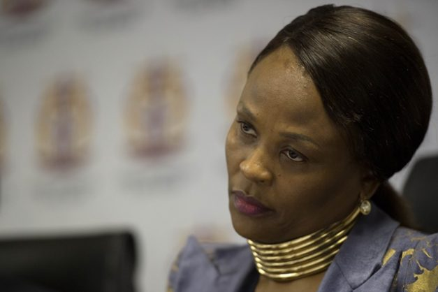 Mkhwebane warns officials to cooperate on Covid-19 matters, or else