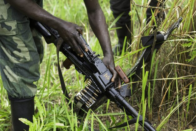 DCR military hunting down gang behind massacre of civilians