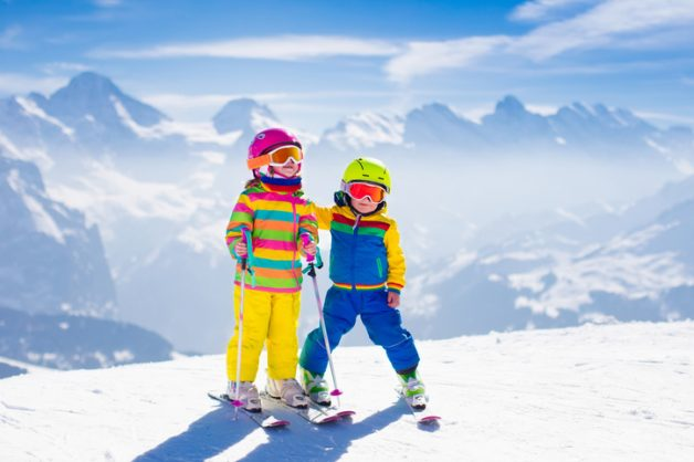 Why skiing is good for your kids' health