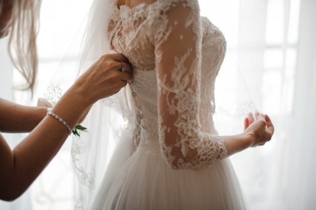 Italian designer allegedly burns wedding dress collection in Covid-19 protest