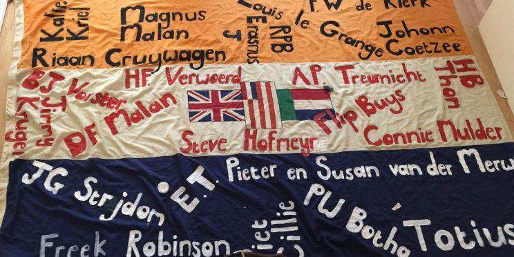 Steve Hofmeyr harassed anti-apartheid flag activist, court finds