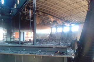 Multimilion-rand community library torched in Ottosdal protest