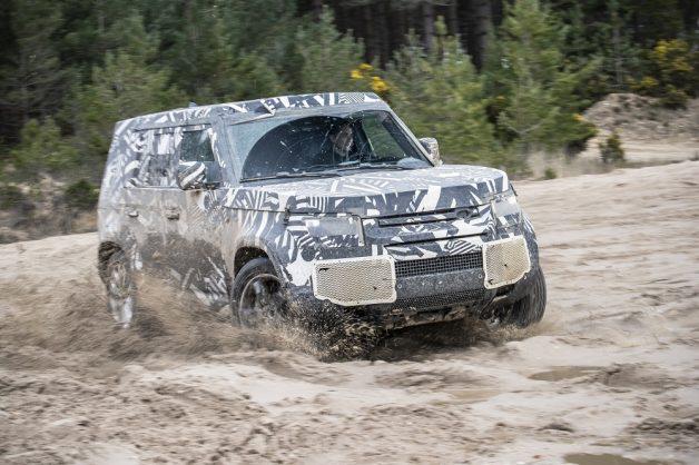 Land Rover Defender's engine and spec details revealed as more details leak