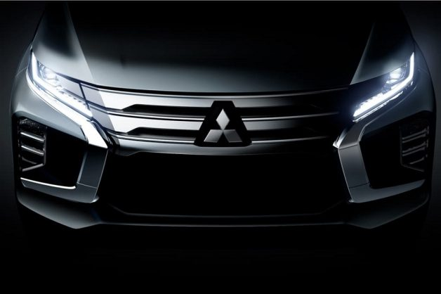Mitsubishi teases Dynamic Shield faced, updated Pajero Sport