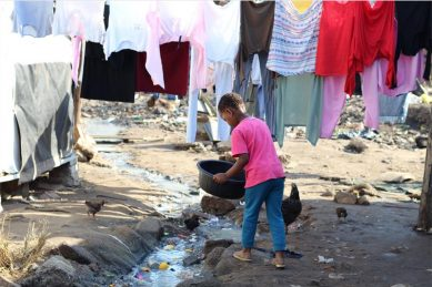 Open sewage in Durban poses serious health risk to children