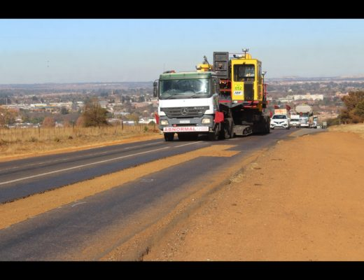 National road in Middelburg hacked to pieces