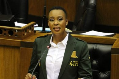 Ndabeni-Abrahams in hot water again, this time with parly