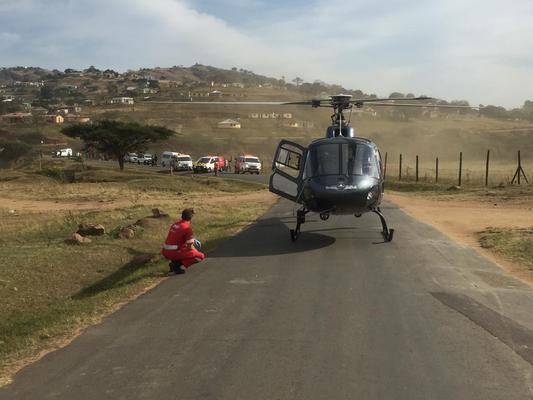 Toddler airlifted to hospital after horrific Pietermaritzburg crash
