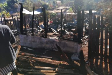 Shack dwellers outside Tzaneen hit hard after devastating fire