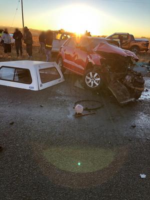 Two dead in crash near Vereeniging