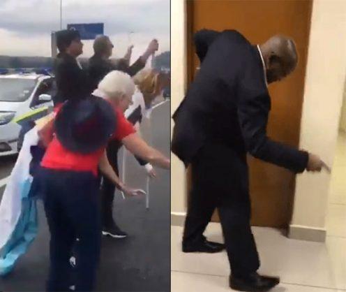 WATCH: Zuma mocks Zuma Must Fall protesters ahead of Zondo Inquiry appearance