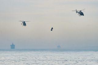 WATCH: Frenchman zips across English Channel on 'flyboard'