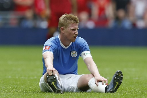 De Bruyne says Man City, Liverpool not yet 'physically ready'