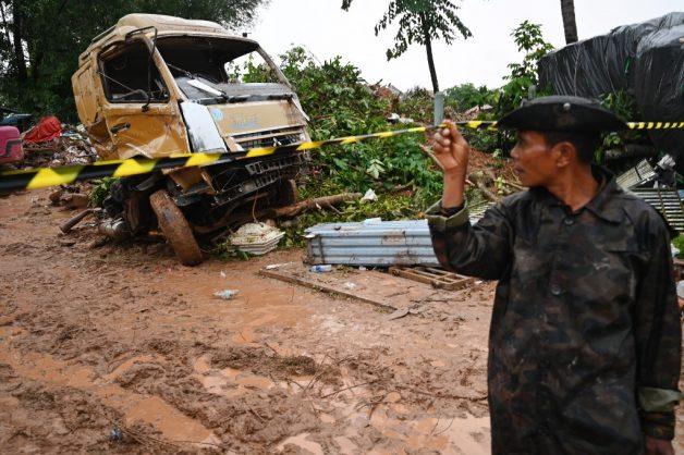 Myanmar landslide kills 34, many more feared missing