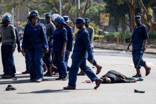 Police brutality in Zimbabwe now 'worse than' under Mugabe