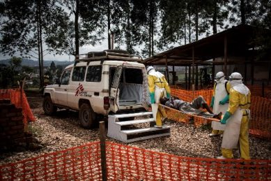 Ebola cases surface in DR Congo's South Kivu province