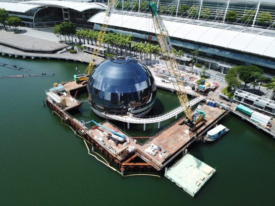 Aveng is involved in the expansion of the Marina Bay Sands resort in Singapore. Image: Supplied