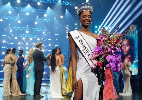 Miss SA Zozibini Tunzi on spending her R1m prize money, Sandton