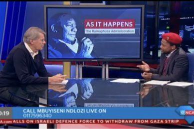 Ndlozi slates Ramaphosa for 'fake' shock about Kimberley township
