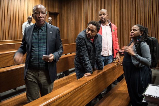 WATCH: Malema mocks Sanef's lawyer, says it is being used to 'defend Pravin'