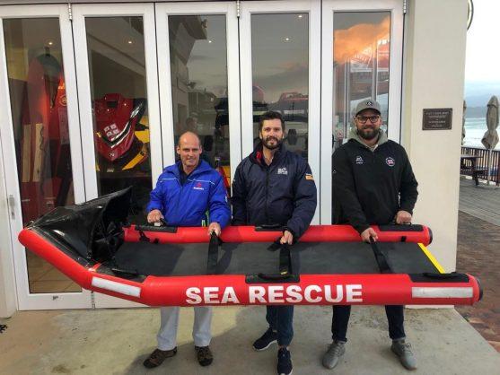NSRI's floating stretcher bags finalist spot for international award
