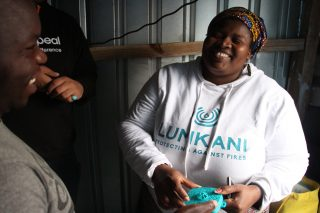 SA startup Lumkani devises clever kit to prevent massive shack fires and save lives