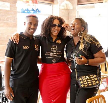 Sbahle spills the tea on Khune romance on #KwaMamMkhize