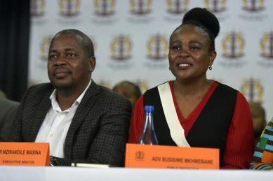 Ekurhuleni mayor defends Mkhwebane, has advice for Ramaphosa