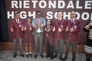 GALLERY: Lesufi renames Höerskool Hendrik Verwoerd to Rietondale High School