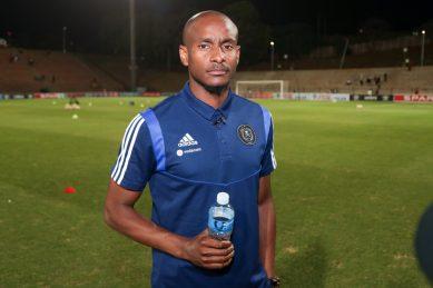 Pirates assistant coach Mokwena spotted coaching ABC Motsepe side