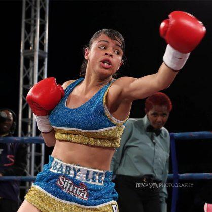 Image result for images of SA female boxer Leighandre 'Baby Lee' Jegels shot dead