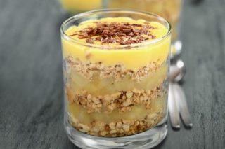Recipe: Crunchy fruit sundae