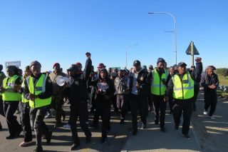 George security guards demand to be insourced by municipality