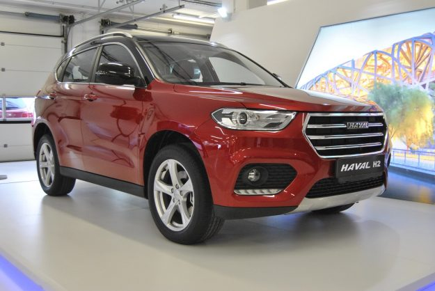 Facelift Haval H2 comes clean at Festival of Motoring