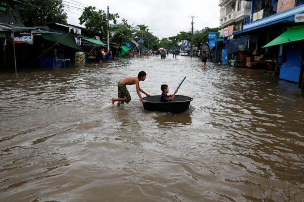 Tens of thousands flee homes in flood-hit Myanmar as landslide toll hits 59