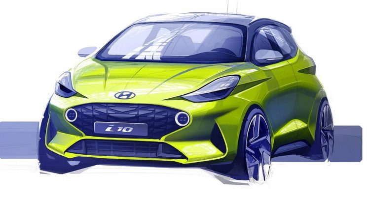 Hyundai sketches all-new i10 as Grand i10's replacement debuts in India