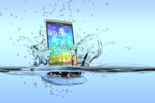 How waterproof is your smartphone?