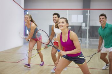 Bored of the gym? Try joining a sports club instead