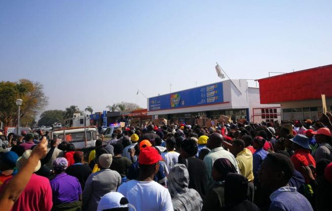'Shutdown is today, tomorrow and forever,' warn Mokopane protesters