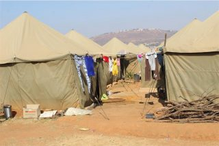 Mkhwebane to fast-track housing for Roodepoort tent dwellers