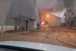 WATCH: Air Force Base Swartkop hangar gutted by fire