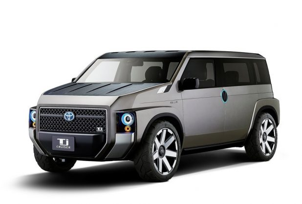Boxy Toyota Tj Cruiser will become a reality