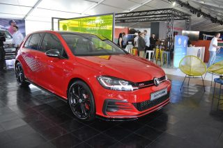 Powered-up Volkswagen Golf GTI TCR debuts at Festival of Motoring