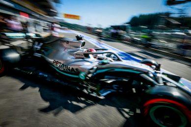 Hamilton hopeful, but Ferrari take charge at Belgian GP practice