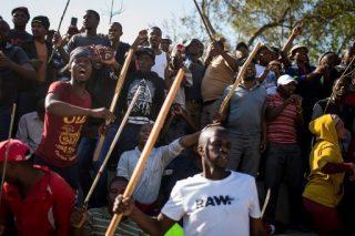 Xenophobic violence a 'plot to sink Ramaphosa'