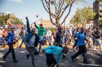 The people who sparked the xenophobic violence