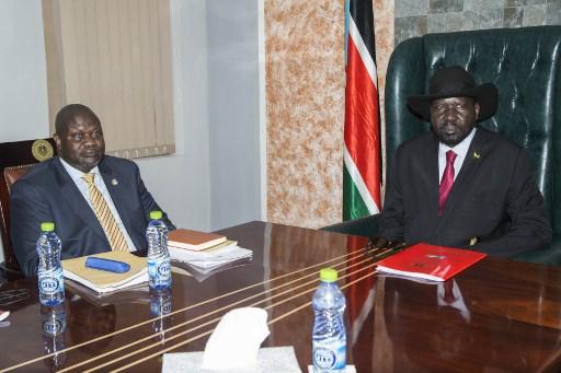 South Sudan rebel leader in Juba in bid to salvage peace deal