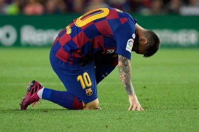 Messi out but Conte expects Inter to suffer